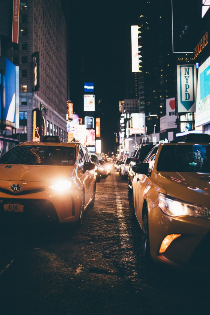USA : taxis à New York
