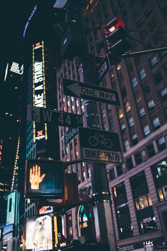 USA : Manhattan de nuit