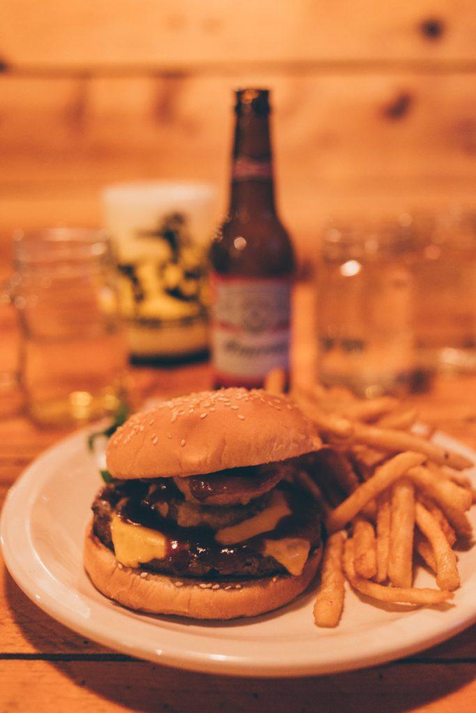 USA : burger à Tropic