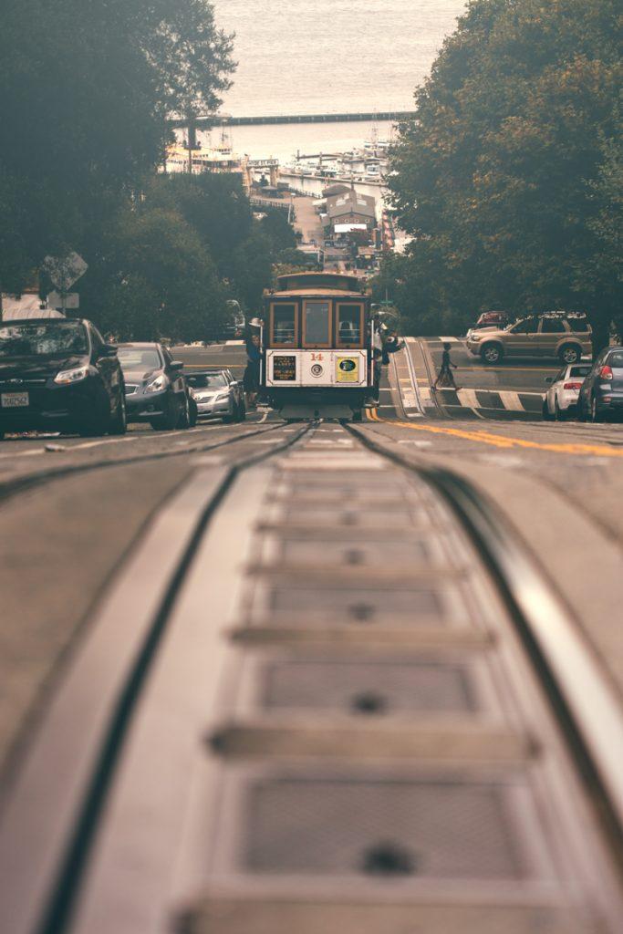 USA : San Francisco lombard street