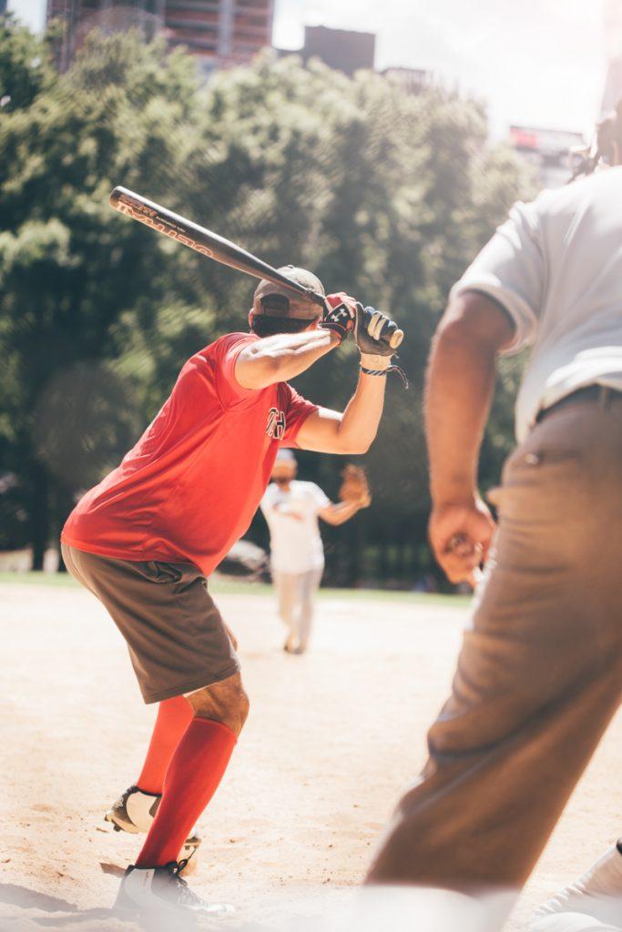 USA : base ball à central park