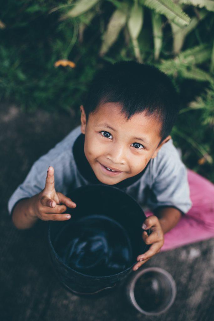 bali enfant et photo