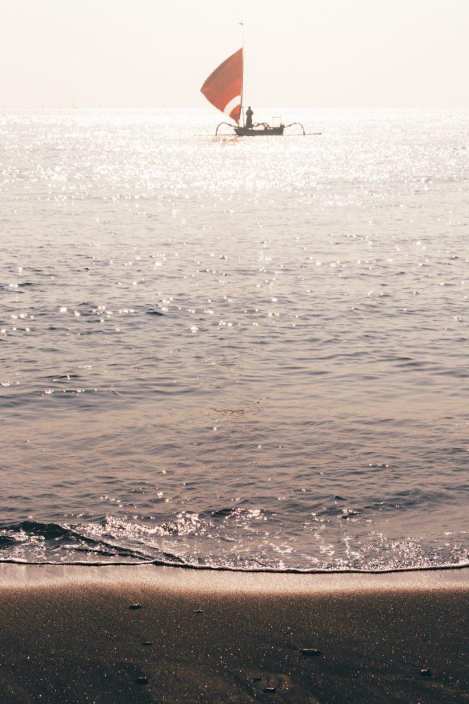Bali amed bateau