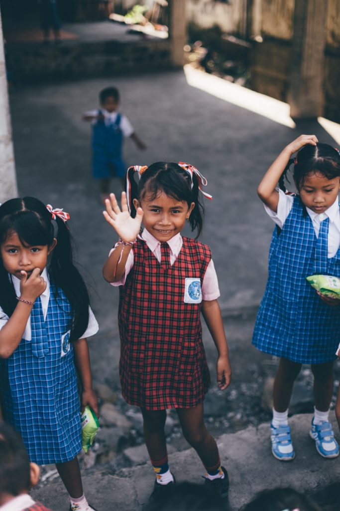 Bali enfants ecole amed