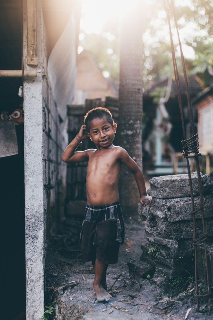 Bali garçon ubud
