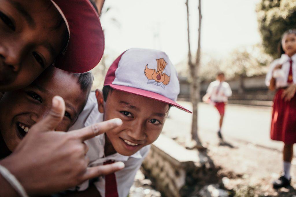 bali insolite enfant souriant