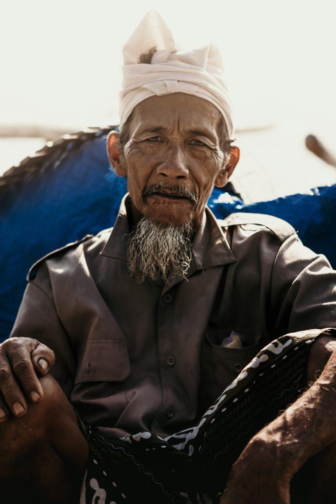bali portrait pêcheur amed