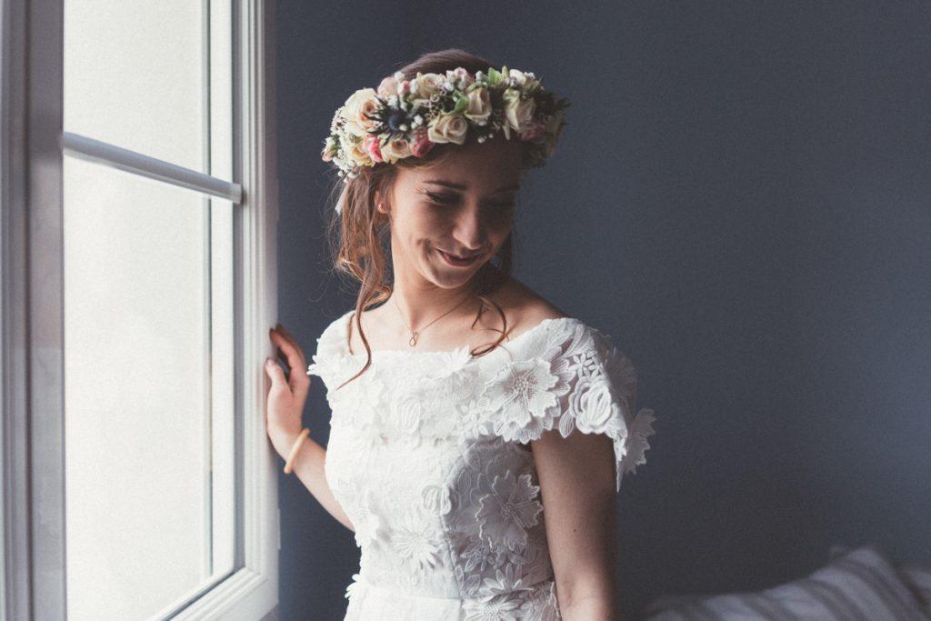 Tamron photo de mariage préparatifs mariée