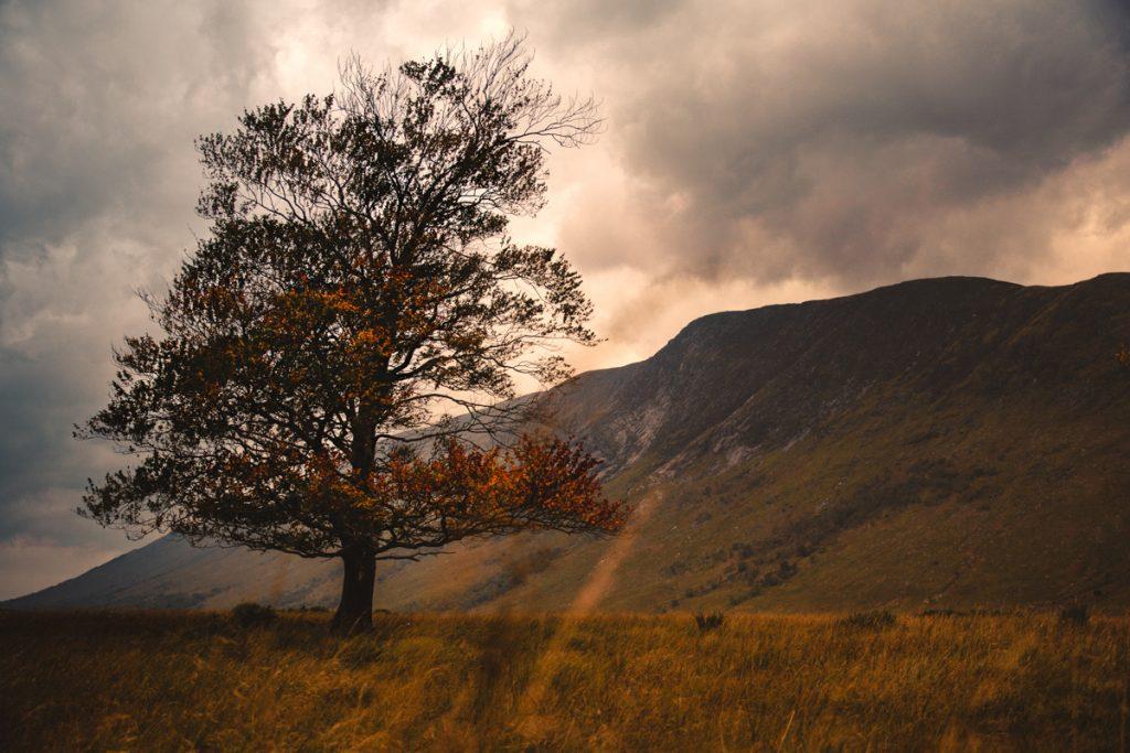 L'Ecosse en bivouac couleurs d'automne en ecosse