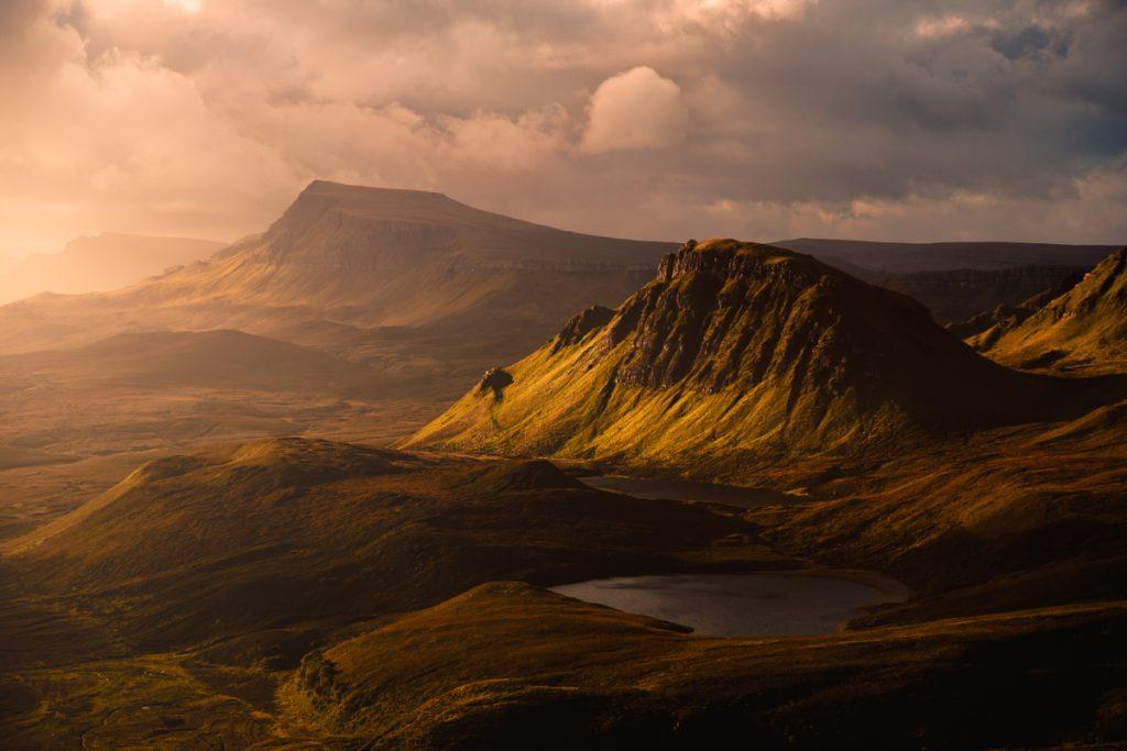 1 semaine en bivouac des Highlands à l'Ile de Skye