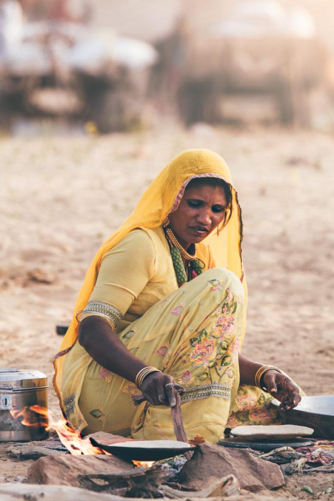 Inde pushkar camel fair