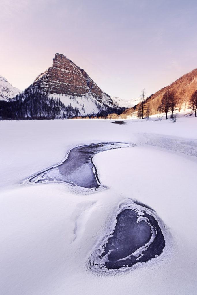 Mercantour lac des sagnes