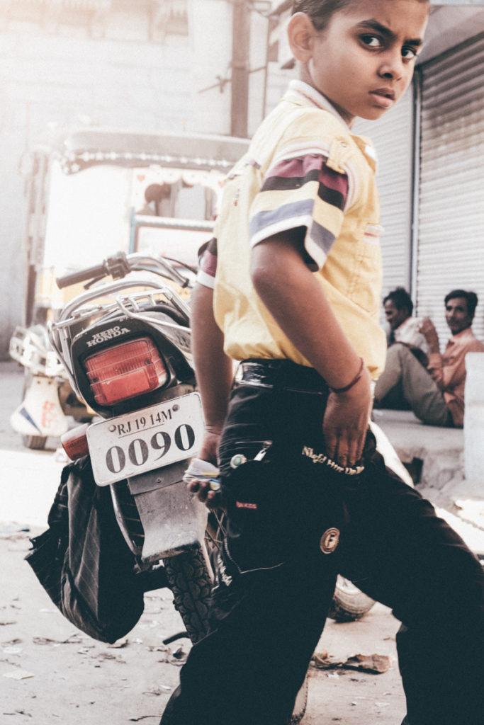Inde enfant jodhpur