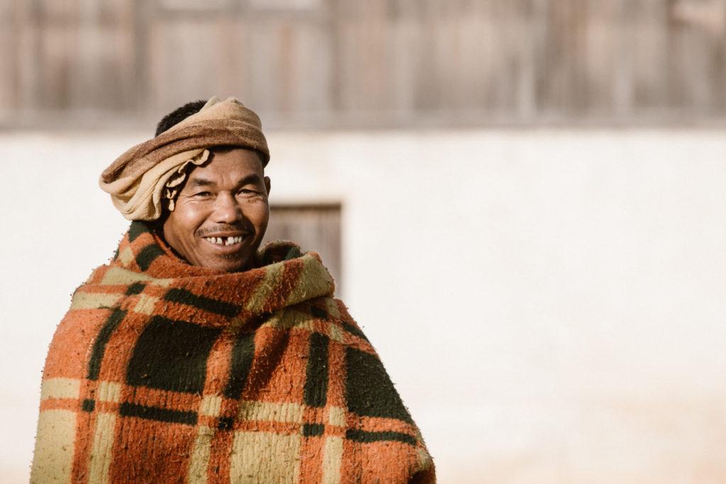 Birmanie sourire