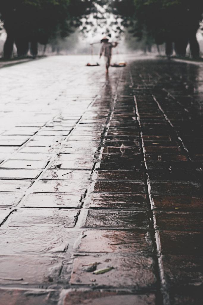 Vietnam hue pluie