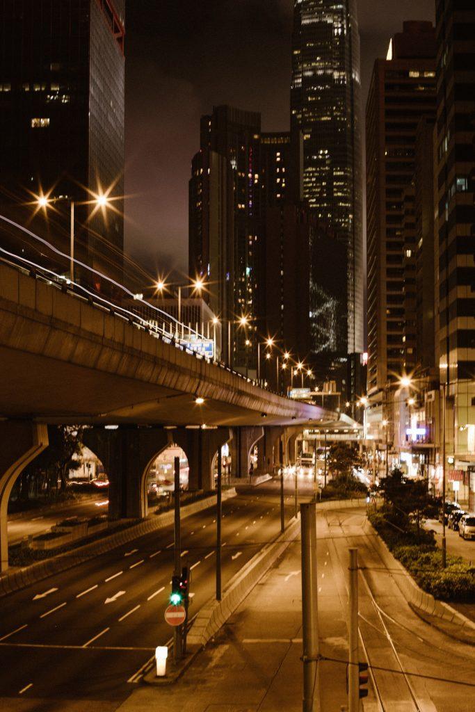 Visiter Hong Kongby night