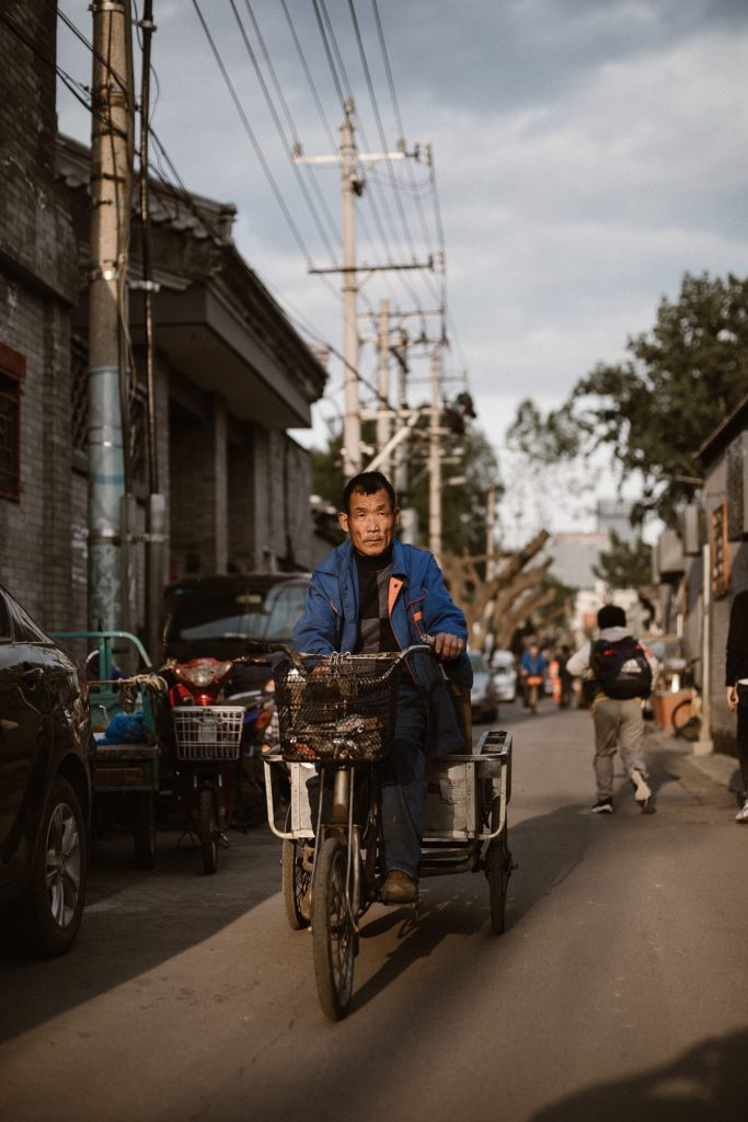visiter pekin velo dans hutong