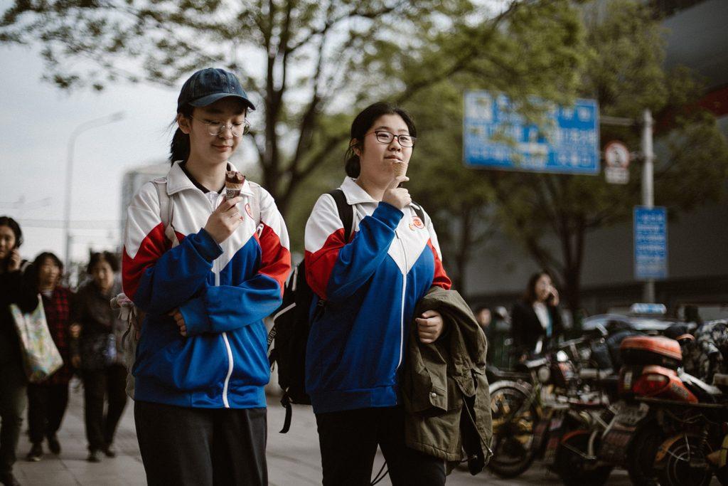 visiter pekin chinoise mange dans rue