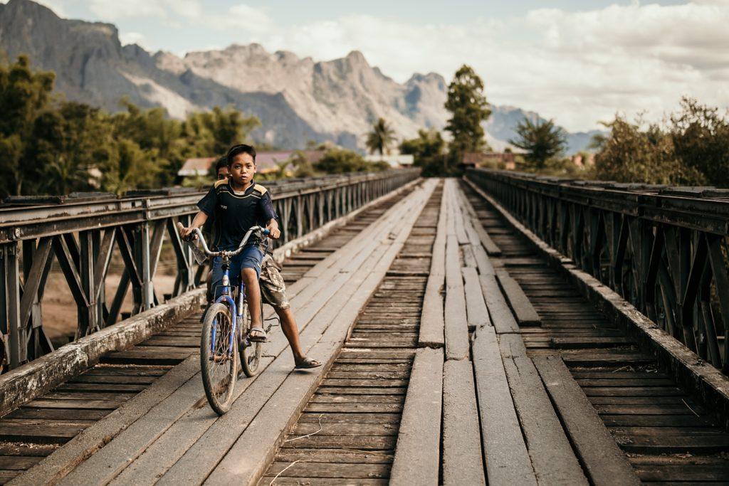 La Boucle de Thakhek vélo konglor