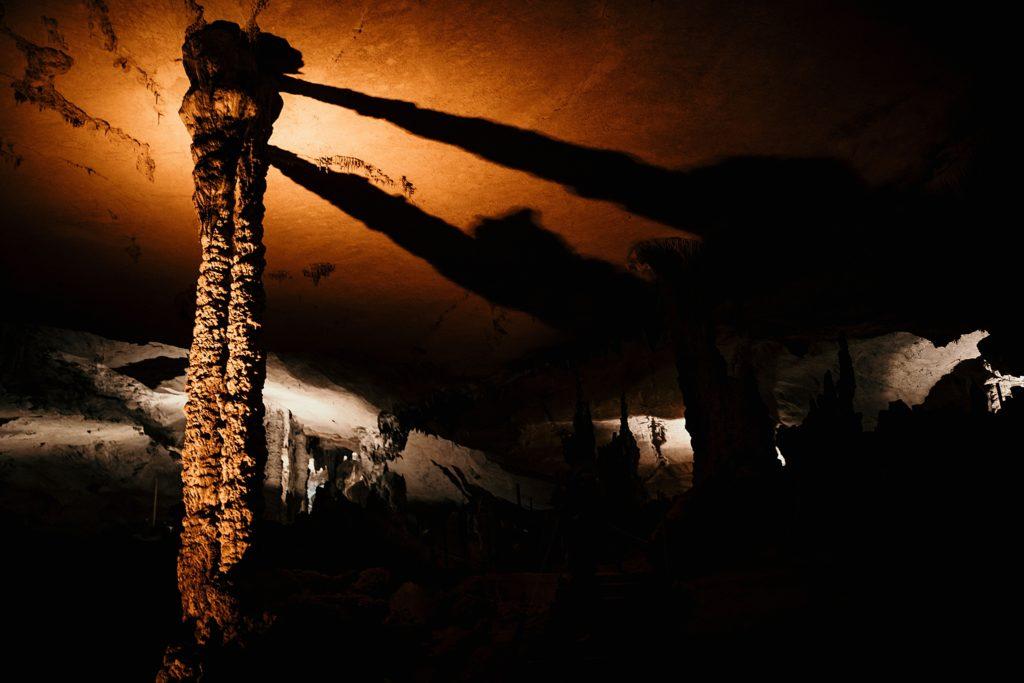 la boucle de thakhek stalactites grotte konglor