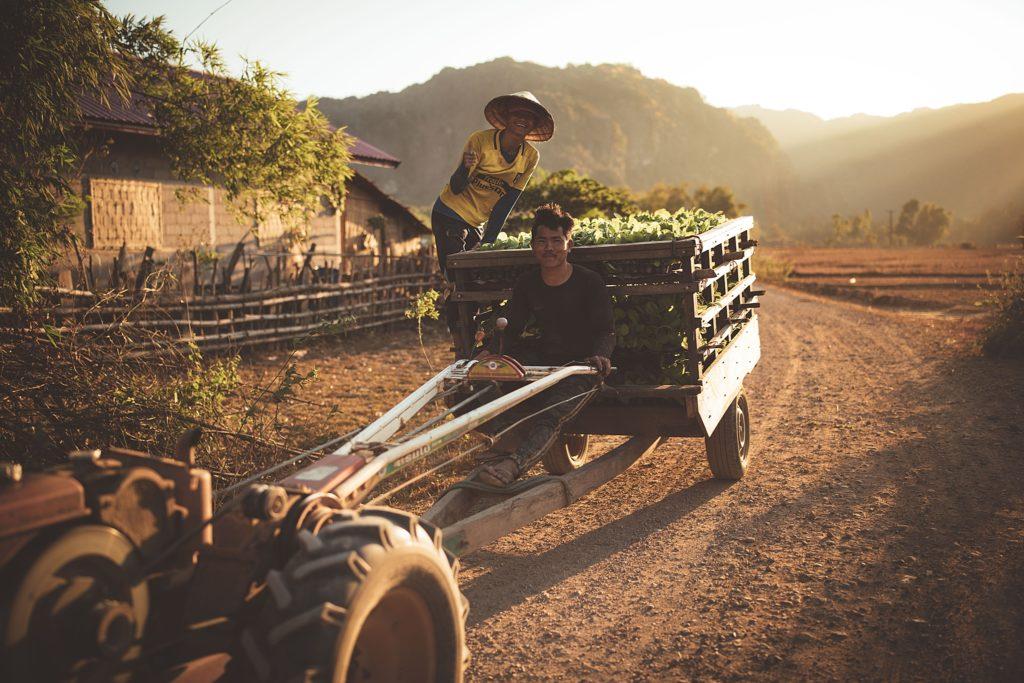 la boucle de thakhek vie agricole konglor