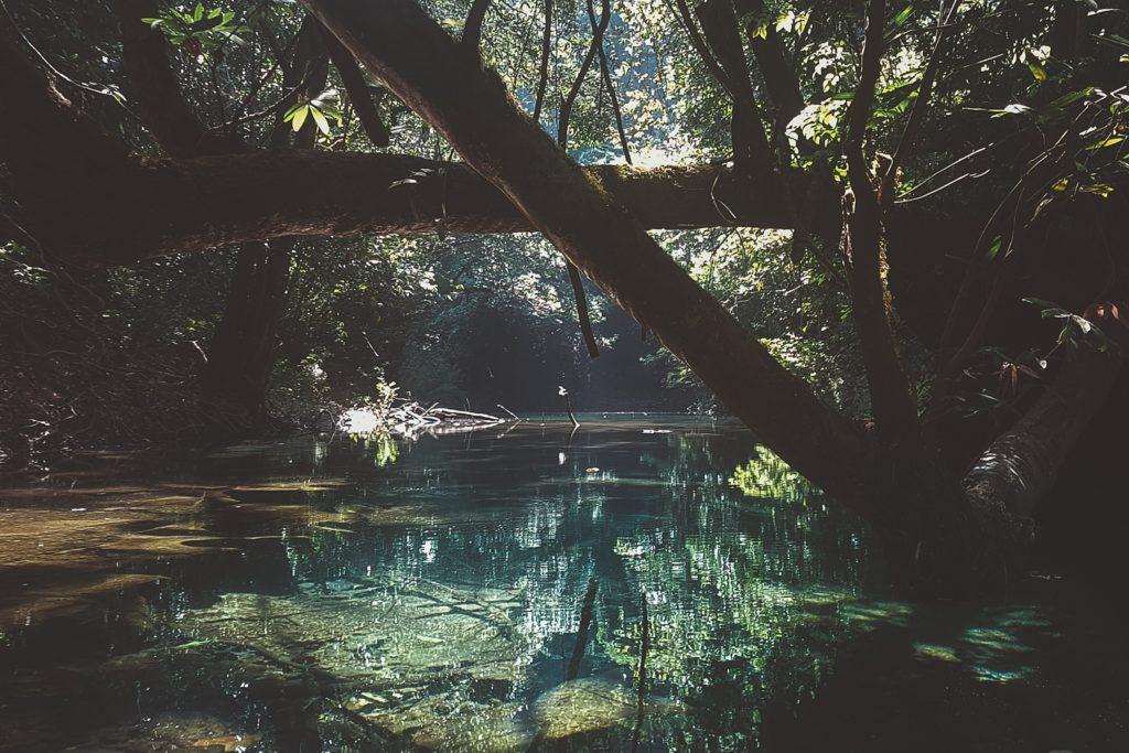 la boucle de thakhek blue lagoon spring river