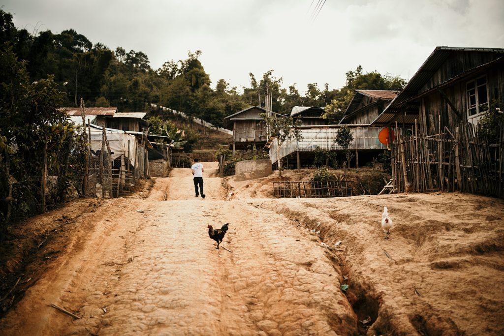 Visiter Phongsali et ses environs village traditionnel