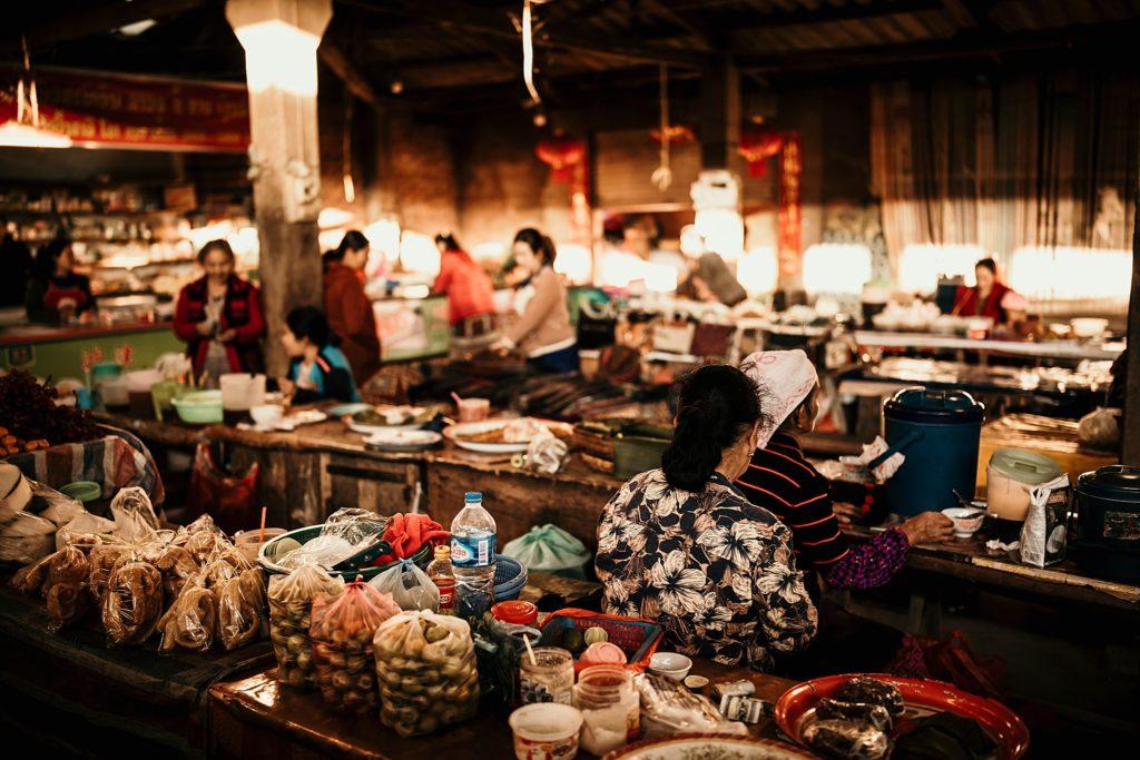 Visiter Phongsali et ses environs phongsali market