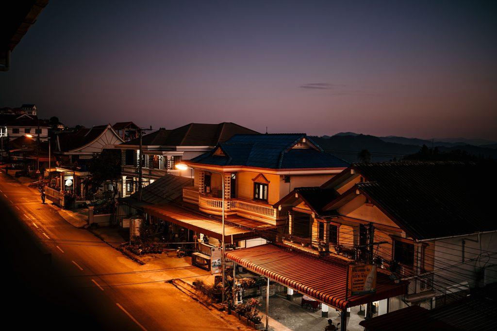 Visiter Phongsali et ses environs phongsali by night