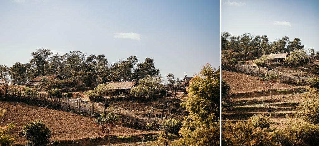 Trek au Laos chez les Akha Peryenxang Mai Village