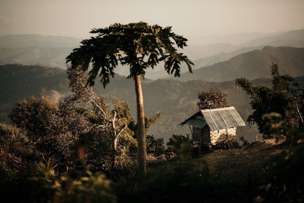 Trek au Laos chez les Akha montagne au laos