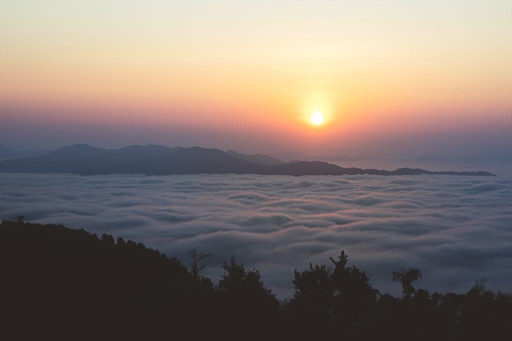 Trek au Laos chez les Akha mer de nuages