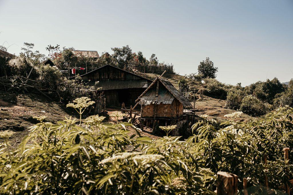 Trek au Laos chez les Akha Peryenxang Kao Village