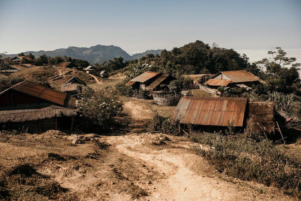 Trek au Laos chez les Akha Peryenxang Kao Village photo