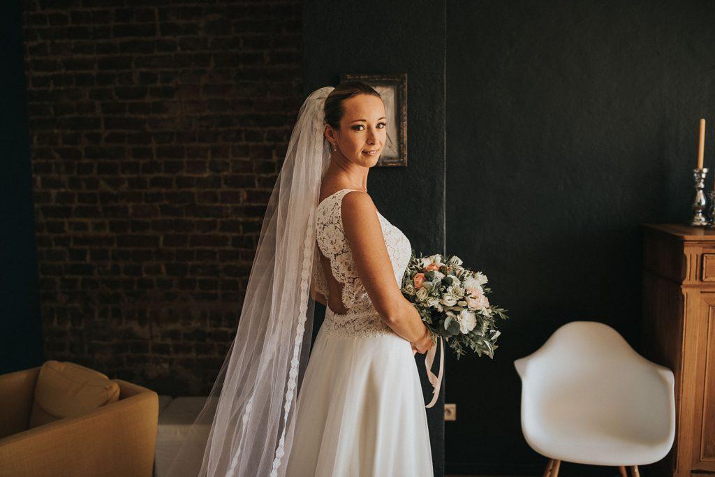 mariage a lille mariée robe cymbeline maison d'hotes la parenthèse