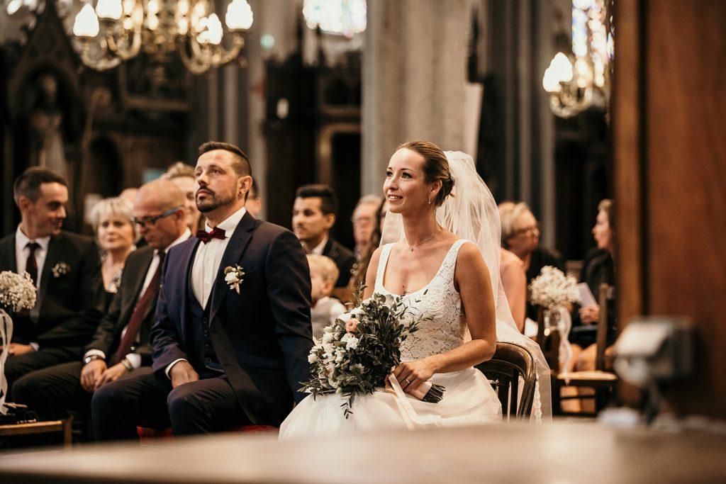 mariage a lille mariés eglise wambrechies