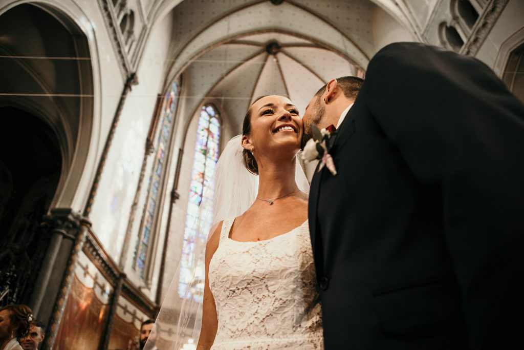 mariage a lille photo de mariés eglise