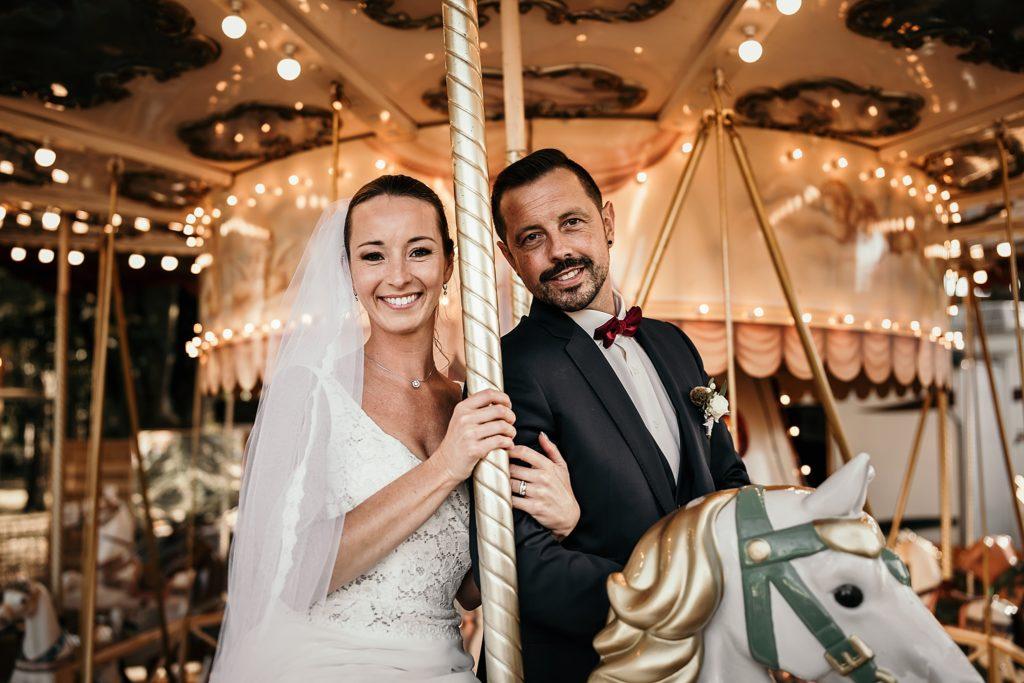 mariage a lille photo de marié caroussel