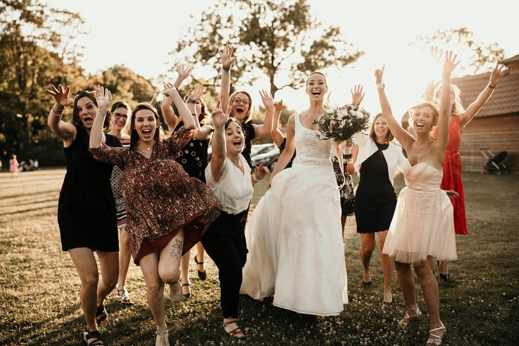 Mariage à Lille photo fun entre filles