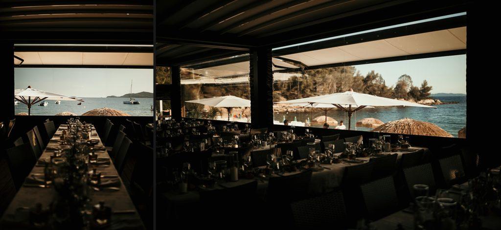mariage bormes mimosas décoration de table c beach