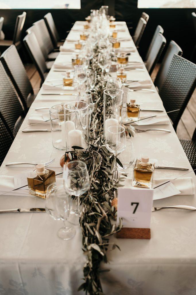mariage bormes mimosas décoration de table mariage