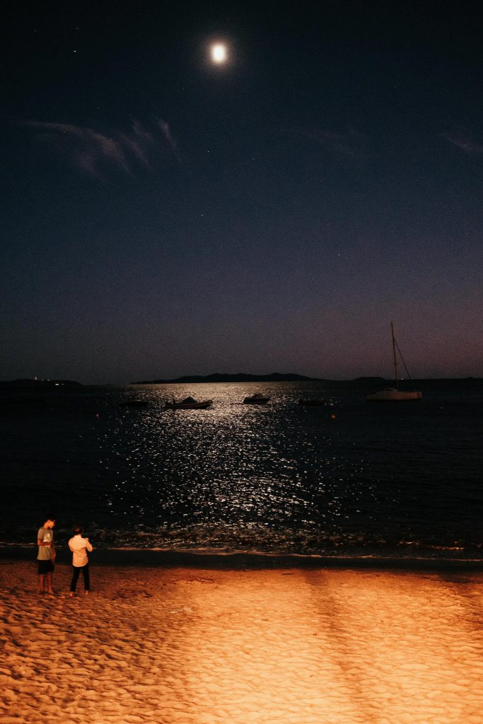 mariage bormes mimosas clair de lune sur mer