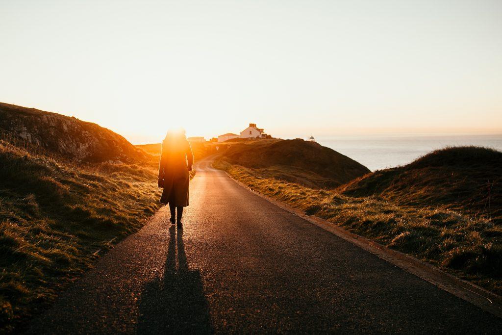 Un week-end à Dublin lever soleil sur lighthouse howth