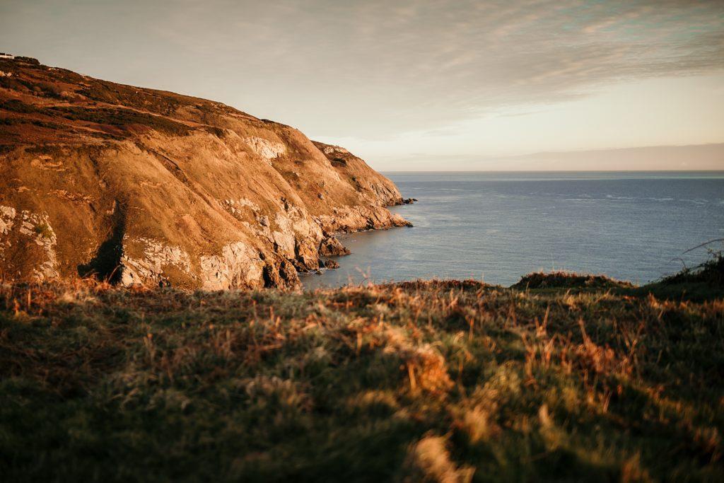 Un week-end à Dublin cliff howth