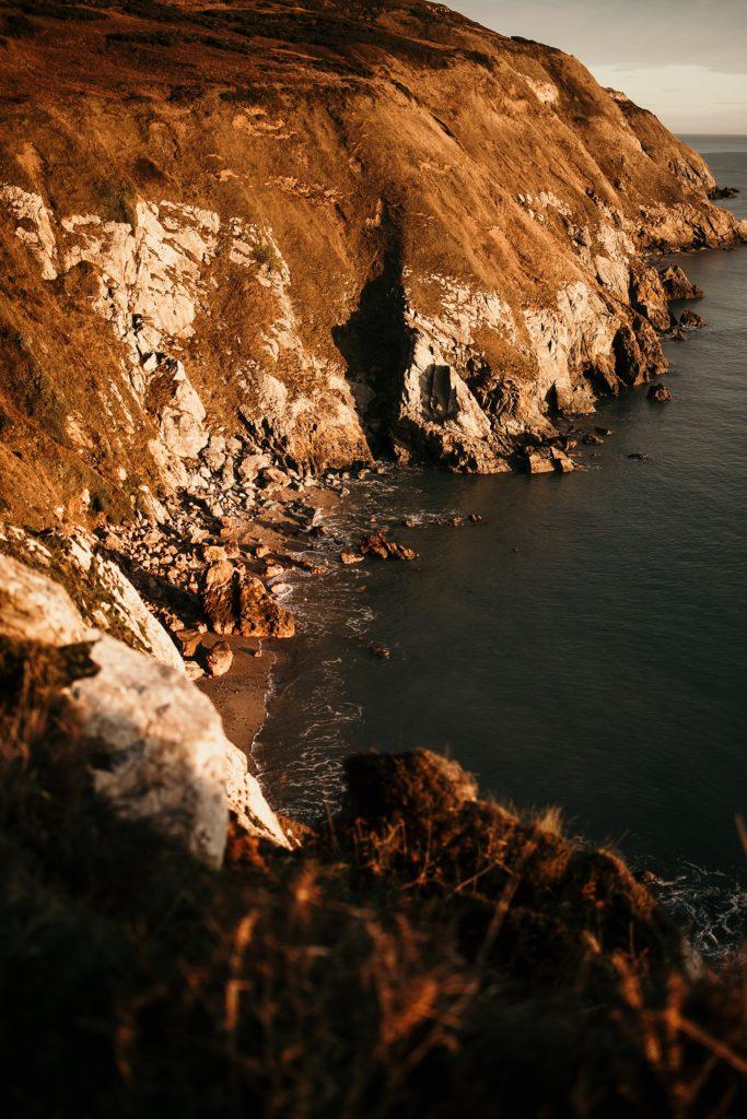 Un week-end à Dublin cliff howth and beach