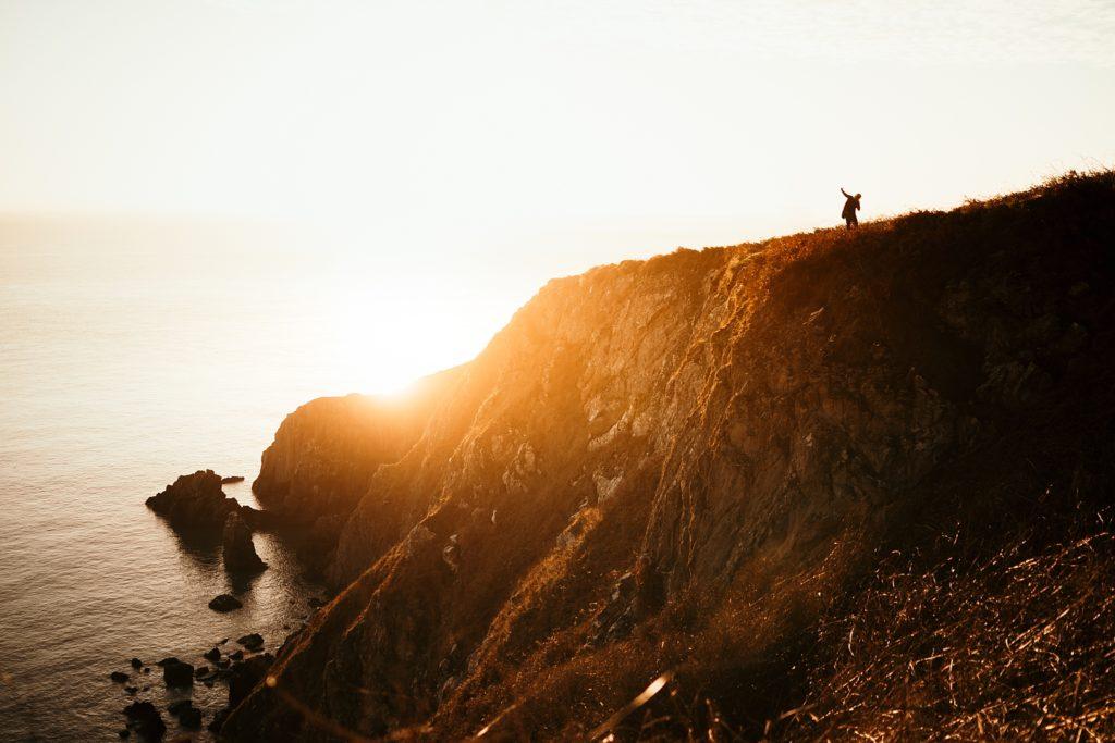 Un week-end à Dublin cliff howth at sunrise