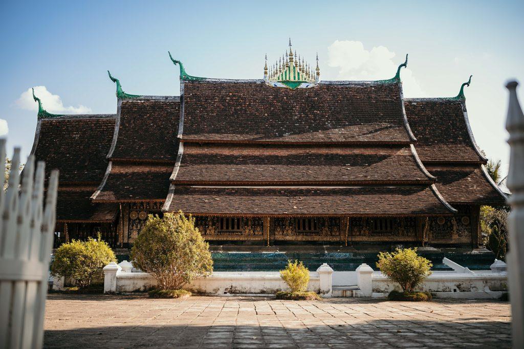 visiter le laos Vat Xieng Thong front