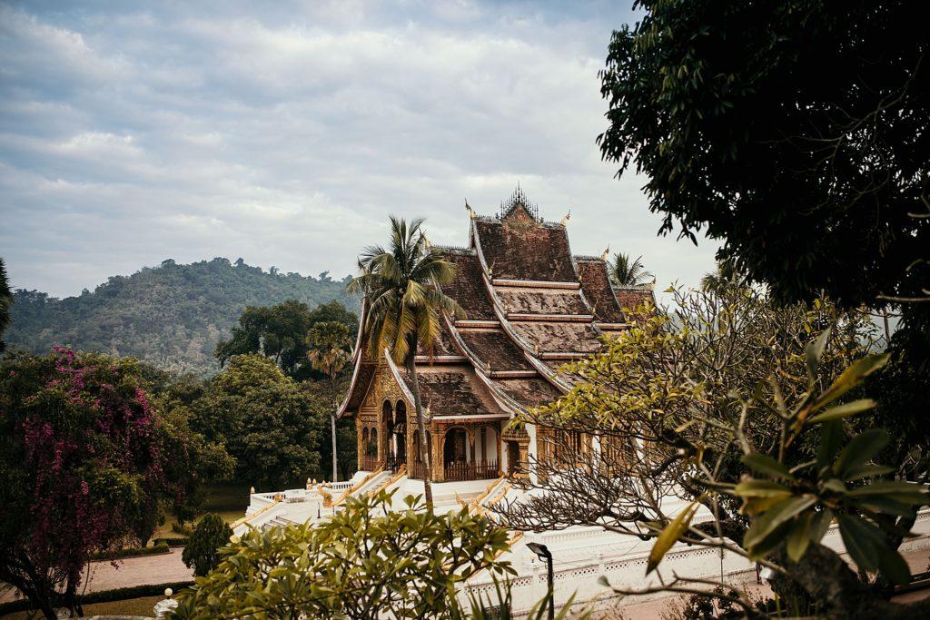 Voyage au Laos temple luang prabang