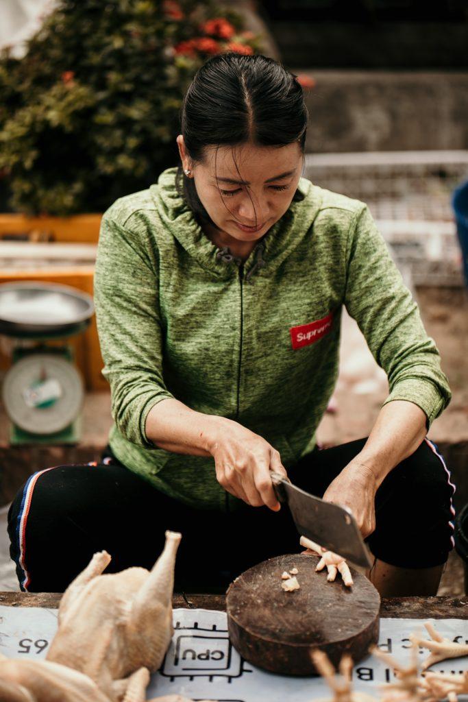 voyage au laos morning market luang prabang