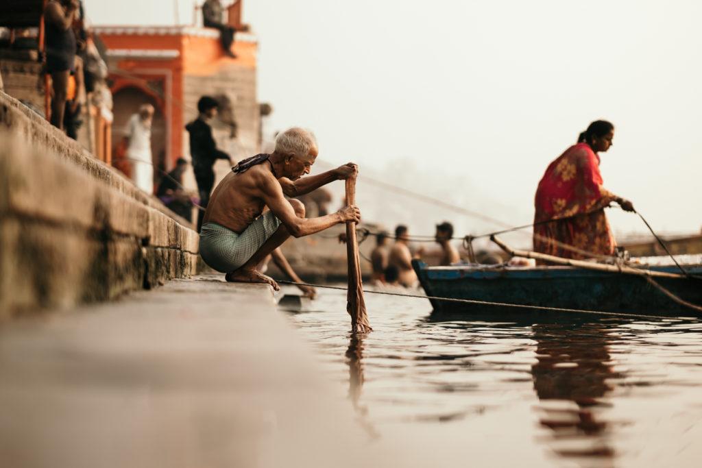 Du Réflex à l'Hybride ghats varanasi